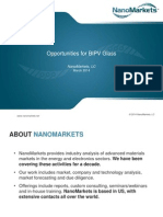 Opportunities for BIPV