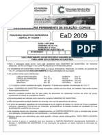 Prova Ead2009