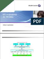 Alcatel WCDMA KPI Evaluation 3G WCDMA