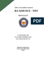 MODUL TUTOR Teaching Grant Ketulian