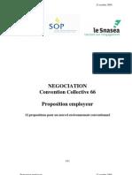 Les 12 Propositions Des Employeurs (Document Officiel Oct 09) PDF