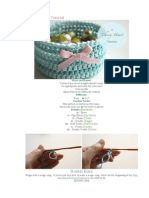 Crochet Basket Tutorial