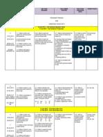 KSSR Scheme of Work Year 1 2014 Edit