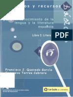Elementos y Recursos Para El Conocimiento de La Lengua y La Literatura
