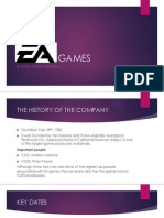(EA GAMES) Unit G322 OCR Media Studies Audiences and Institutions Research