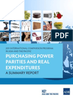 Purchasing Power Parities and Real Expenditures
