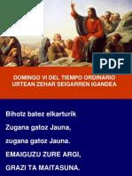 Domingo Vi Del Tiempo Ordinario