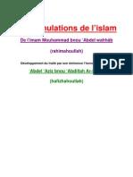 Explication des annulations de l'Islam