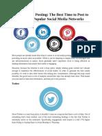 Social Media Posting