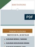 1 Permutations