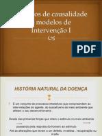 Modelos de Causalidade e Modelos de Interven o I p
