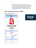Wikipedia Jeux Olympique s