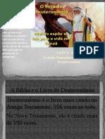 Deuteronomio - Aula 6 - CETADI