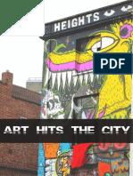 art hits the city
