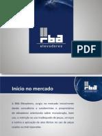 Apresentação RBA Elevadores