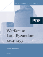 Warfare in Late Byzantium, 1204–1453 (by Savvas Kyriakidis)