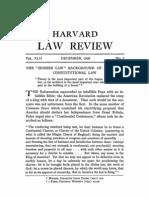 Corwin Higher Law Pt 1