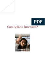 Can Asians Innovate