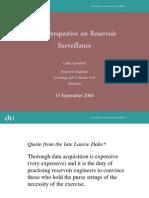 DTI Perpective Reservoir Surveillance