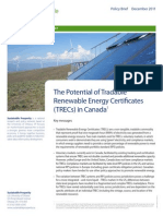 Tradeable Renewable Energy Certificates
