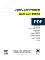 Toc - Digital Signal Processing by Kenton Williston
