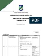 RPT 2014 Mat Tambahan Tingkatan 4