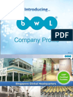 bwl business presentation