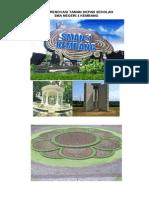 Sket Renovasi Taman Depan Sekolah