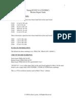Tatung EC9387-01 or C5GNEKC Monitor Repair Guide