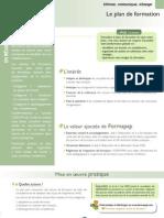 Fiche Formapap Plan Formation