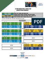 2014 FBWC Draw Results