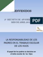 reunión apod. Abril  2014 7° - 8°