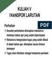 Bio212 Handout Kuliah 5 - Transpor Larutan