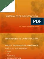 Materiales de Construcción - Clase N° 01 - Yeso
