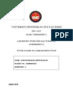 Chemistry Report 4