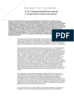 La Resp. Penal Individual Bajo El DIPu
