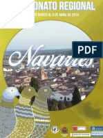 Revista del Campeonato Regional de Colombicultura de Navarrés 2014