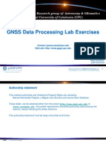 GNSS Data Processing Lab Exercises