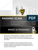 Phishing Scam (INFO 2602, Sect 1)