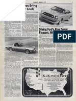 Vintage Autoweek review of the 1978 Ford King Cobra II Mustang