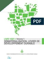 Dematerialisation Levier Developpement Durable