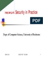 Network Security in Practice