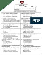 Evaluacion Francisca Yo Te Amo