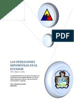 Patrullas Hipomoviles en Ecuador