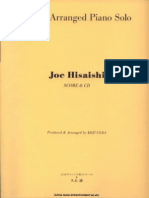 Richly Arranged Piano Solo - Joe Hisaishi