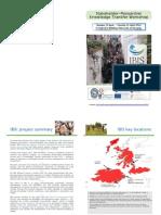 Glasgow 2014 IBIS Stakeholder Meeting 14-15 April - Brochure