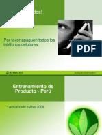 Entrenamiento Productos - Hbl Peru