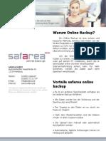 Safarea Online Backup