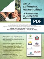 Join us in protecting Nashville's children!