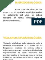 VIGILANCIA EPIZOOTIOLÓGICA